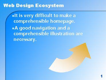 シンプルなPowerPoint無料デザインテンプレート