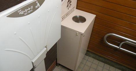 森林公園のトイレは使いやすい