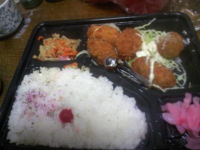 サノヤ・牡蠣フライ弁当