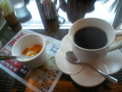 わさび・コーヒーとデザート