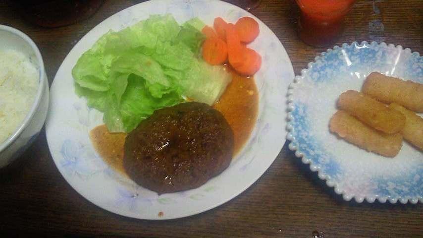 みわ屋のハンバーグ