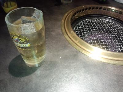 ジンジャーと焼き網