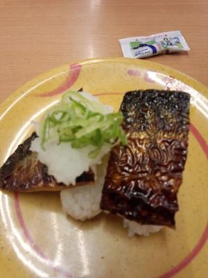 スシロー 焼き鯖寿司