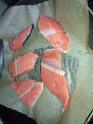 ウオトクの鮭