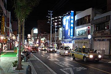 国際通りの夜