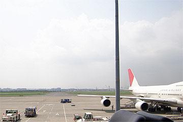 羽田空港11番スポット