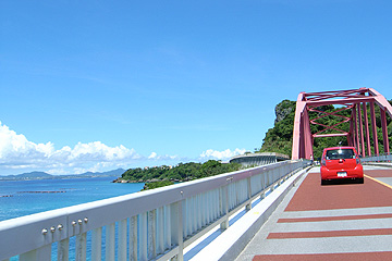 伊計島の橋