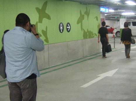 横浜ベイクォーター駐車場