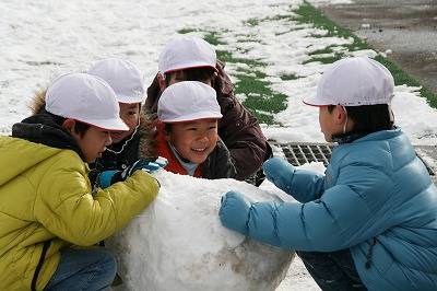 雪だるま作り