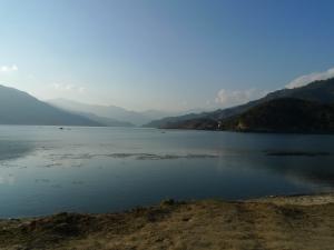 ポカラのフェワ湖