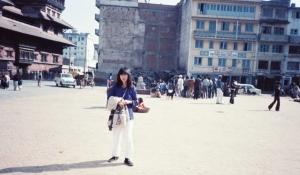 30年前のダルバール広場1