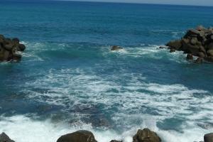 矢井賀の海