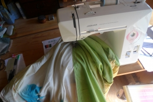フラフ縫い