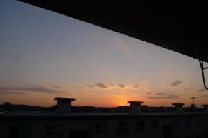 勝田台の夕焼け