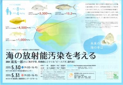 海の放射能