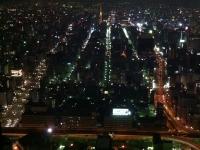 ミッドランドスクエアからの夜景
