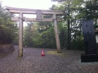 玉置神社の鳥居