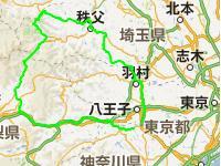 GPSログからのマップ