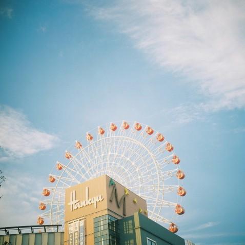 空を渡ろう。