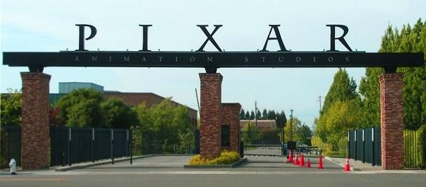 Pixar front gates