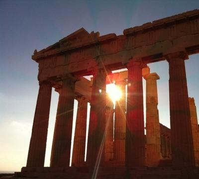 アテネの神殿