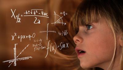 子供と数式