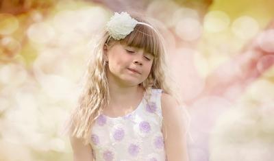 可愛い雰囲気、気分の良い女の子