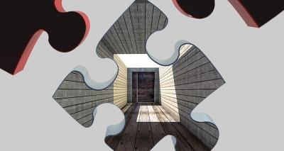 パズルとドア