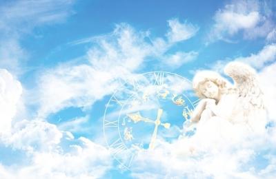 天使と時計