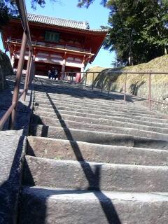 道成寺石段