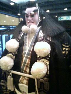 弁慶の人形