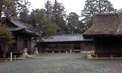 大川瀬住吉神社能舞台