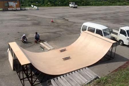 スケートミニランプ