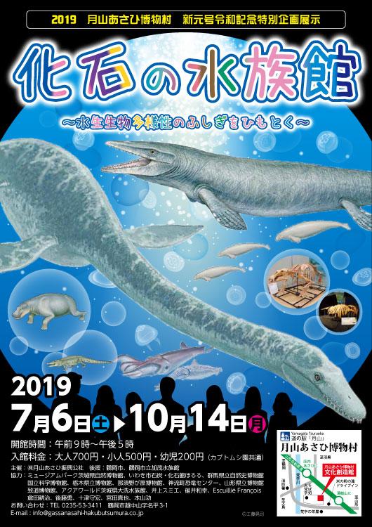 化石の水族館