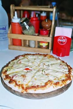 おいしかったピザ。