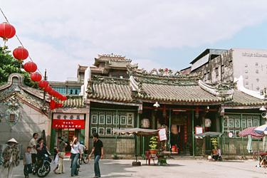 チョロンにある寺院。