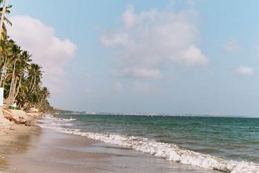 ムイネーのビーチ
