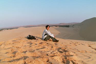 砂丘と私?