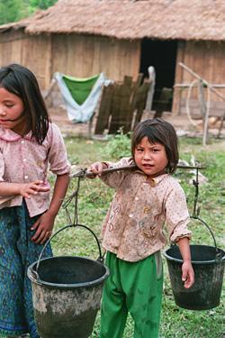 子供たちは働き者だった。
