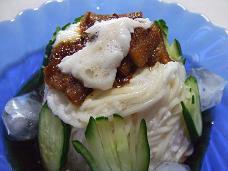 穴トロロ麺
