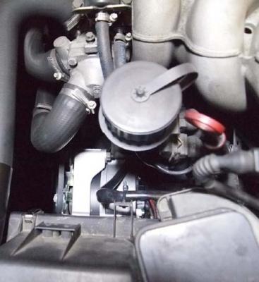 BMWオルタネーター交換