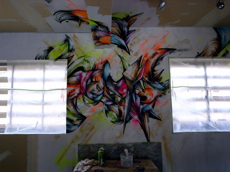 Penke Bar Mural