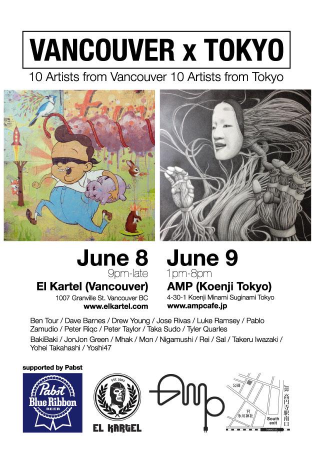vancouver x tokyo art show