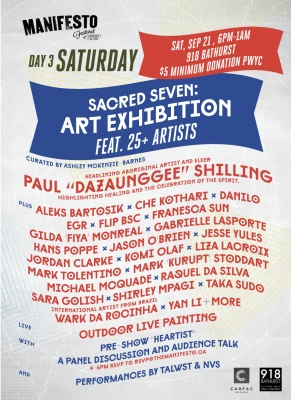 manifesto festival art show