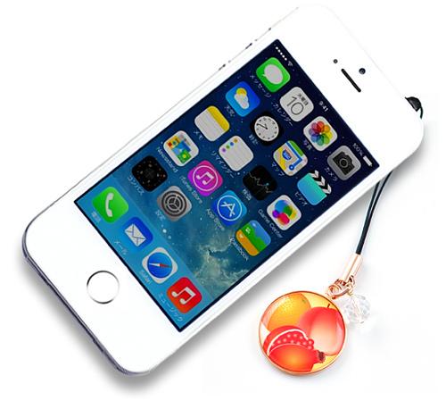 「三柑の実」スマートフォン装着イメージ