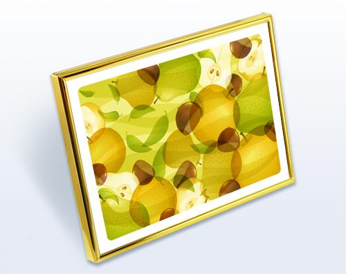 最上位風水果実アートプレミアム 和梨&栗&ラフランスのイメージ2