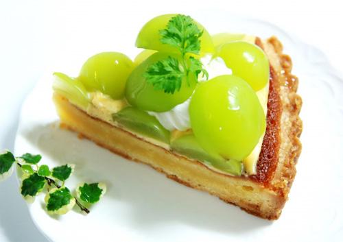 葡萄のケーキイメージ