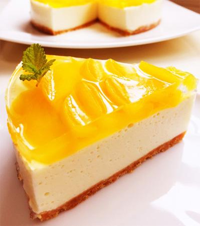 桃ケーキイメージ