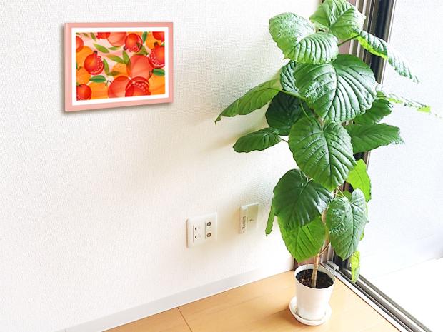 ウンベラータと風水果実アート