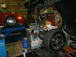 タイヤ交換!